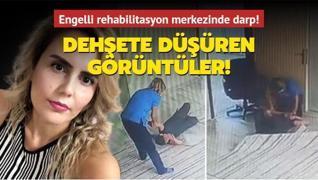 Aydın'da dehşete düşüren görüntüler! Engelli rehabilitasyon merkezinde darp!