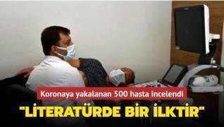 Koronaya yakalanan 500 hasta incelendi: Literatürde bir ilktir