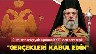 'Türkler ve Rumlar aynı haklara sahip olamaz' diyen Başpiskoposa KKTC'den sert tepki