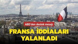 ABD desteğini alan Fransa, Mali'yi terk etme iddialarını yalanladı
