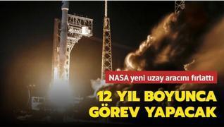 12 yıl boyunca görev yapacak... NASA yeni uzay aracını fırlattı