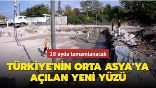 Türkiye'nin Orta Asya'ya açılan yeni yüzü: Türkgözü Sınır Kapısı