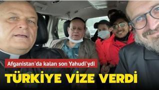 Afganistan'da kalan son Yahudi'ydi... Türkiye vize verdi