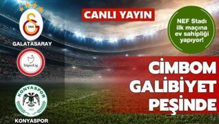 Galatasaray'ın rakibi Konyaspor
