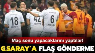 Konyaspor'dan Galatasaray'a flaş gönderme