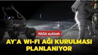 NASA Ay'a Wi-Fi ağı kurma çalışmasında