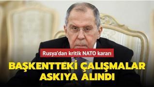 Rusya'dan NATO kararı… Moskova'daki NATO Enformasyon Ofisi çalışmaları askıya alındı