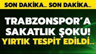 Trabzonspor'a sakatlık şoku! 2 oyuncudan kötü haber geldi...