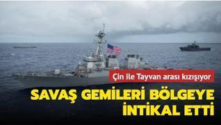 Güneydoğu Asya'da gerginlik tırmanıyor... ABD ve Kanada savaş gemileri bölgeye intikal etti