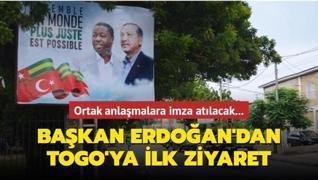 Başkan Erdoğan'dan Togo'ya ilk ziyaret