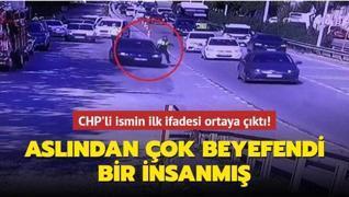 Polisi metrelerce sürükleyen Sadıkoğlu'nun ifadesi ortaya çıktı! Aslından çok beyefendi bir insanmış