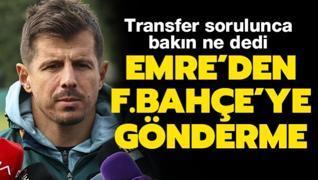 Belözoğlu'ndan Fenerbahçe'ye gönderme! Transfer sorulunca bakın ne dedi