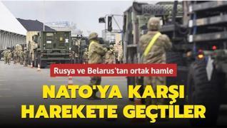 Rusya ve Belarus'tan, NATO'ya karşı ortak askeri doktrin