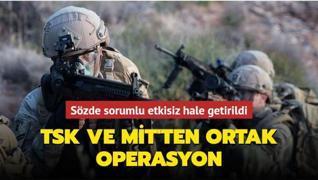 TSK ve MİT'ten ortak operasyon... Sözde sorumlu Taybet Bilen etkisiz hale getirildi