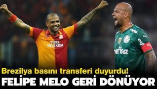 Brezilya basını duyurdu! Felipe Melo Galatasaray'a...