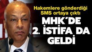 MHK'de 2. istifa da geldi! Hakemlere gönderdiği SMS ortaya çıktı