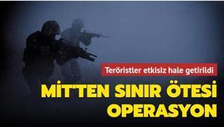 MİT'ten Irak'ın kuzeyinde operasyon