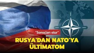 Rusya'dan NATO'ya ültimatom... Ukrayna pakta katılırsa sonuçları olur