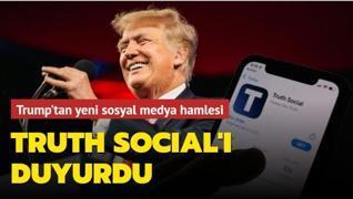 Trump'tan yeni sosyal medya hamlesi... TRUTH Social'ı duyurdu