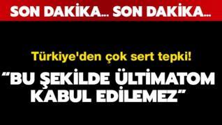 Türkiye'den 'Osman Kavala' tepkisi: Bu şekilde ültimatom kabul edilemez