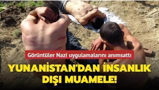 Yunanistan'dan insanlık dışı muamele! Göçmenleri dövdüler, eşyalarını aldılar