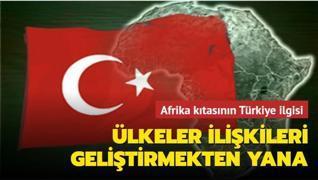 Afrika ülkeleri Türk ilişkilerine karşı istekli