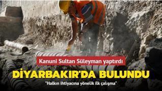 Kanuni Sultan Süleyman yaptırdı... Diyarbakır'da bulundu