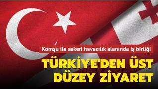 Komşu ile askeri havacılık alanında iş birliği... Türkiye'den üst düzey ziyaret