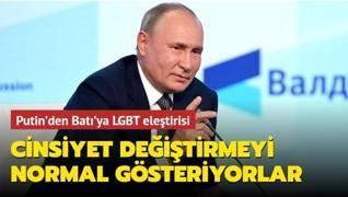 Putin'den Batı'ya 'cinsiyet değiştirme' eleştirisi
