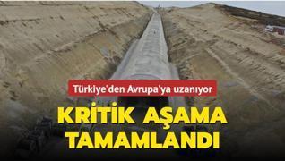 Türkiye'den Avrupa'ya uzanıyor... Halkalı-Kapıkule demiryolu hattında çalışmaların yüzde 50 'si tamamlandı