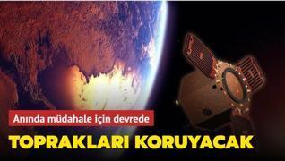 Yerli uydu Göktürk-1'in etkinliği üst seviyeye çıkarılıyor