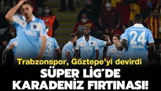Trabzonspor, kritik virajı kayıpsız döndü
