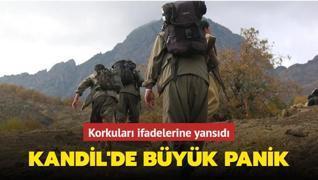İletişim ağları eriyen terör örgütü PKK'da büyük panik