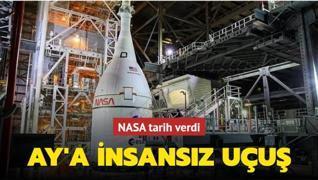 NASA tarih verdi: Ay'a insansız uçuş