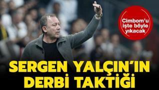 İşte Sergen Yalçın'ın Galatasaray'ı yıkım planı