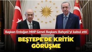 Başkan Erdoğan MHP Genel Başkanı Bahçeli'yi kabul etti