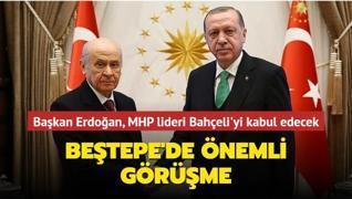 Başkan Erdoğan, MHP lideri Bahçeli ile görüşecek