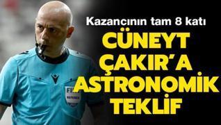 Cüneyt Çakır'a müthiş teklif! Transfer ediyorlar...