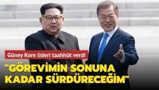 Güney Kore lideri taahhüt verdi: 'Görevimin sonuna kadar sürdüreceğim'