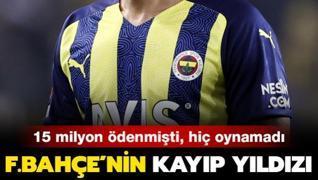 Fenerbahçe'nin kayıp yıldızı! Hiç forma şansı bulamadı...