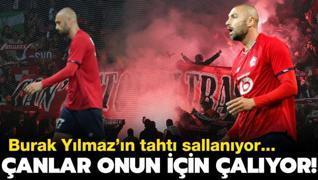 Son golünü 29 Eylül'de atan Burak Yılmaz'ın Lille'deki tahtı sallanıyor...