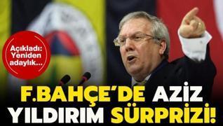 Fenerbahçe'de Aziz Yıldırım sürprizi! Adaylık...