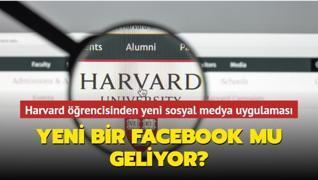 Harvard öğrencisinden yeni sosyal medya uygulaması