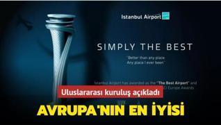 İstanbul Havalimanı Avrupa'nın en iyisi seçildi
