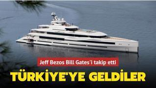 Jeff Bezos Bill Gates'in peşinden Türkiye'ye geldi