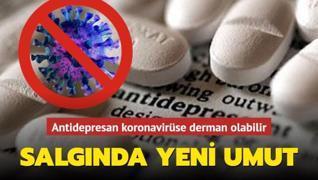 Antidepresan ilacı koronavirüse derman olabilir