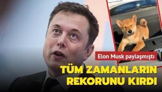 Elon Musk paylaşmıştı... Shiba tüm zamanların rekorunu kırdı