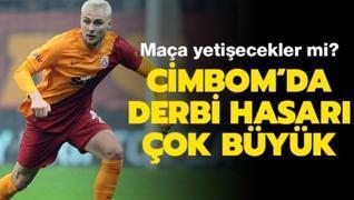 Galatasaray'da derbinin hasarı büyük