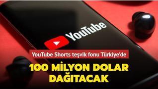 YouTube, 'Shorts' için açtığı teşvik fonunu Türkiye'ye getirdiğini duyurdu