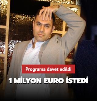 1 milyon Euro istedi!